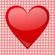 Valentines background with heart — Stockfoto