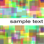 Pastel squares background — Stock Photo