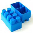 Plastic toy bricks — Stock Photo