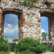 Old ruined castle - Stock Photo