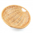 Wicker basket — Stock Photo