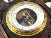 Old barometer — Stock Photo