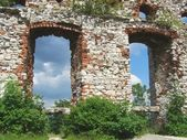 Old ruined castle — Stock Photo