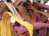 Colorful zips — Stock Photo