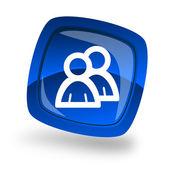 Group internet icon — Stock Photo