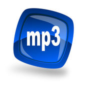 Mp3 file internet icon — Stock Photo
