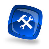 Service internet icon — Stock Photo