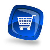 Shopping internet icon — Stock Photo