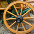 Restored old cart — Stock Photo