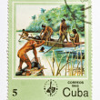 Stamp from Cuba — Stock Photo