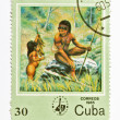 Royalty-Free Stock Photo: Stamp from Cuba