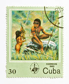 Stamp from Cuba — Foto Stock