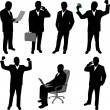 Vector de stock : Businessman