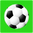 Stock Vector: Soccer ball