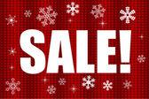 Inverno in vendita - vettoriale — Vettoriale Stock