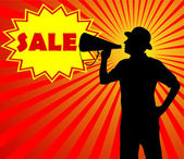 Prodej koncept — Stock vektor