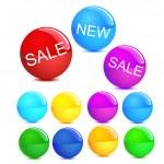 Cool vector spheres — Stock Vector #2268046