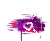 Grange hjärta — Stockvektor