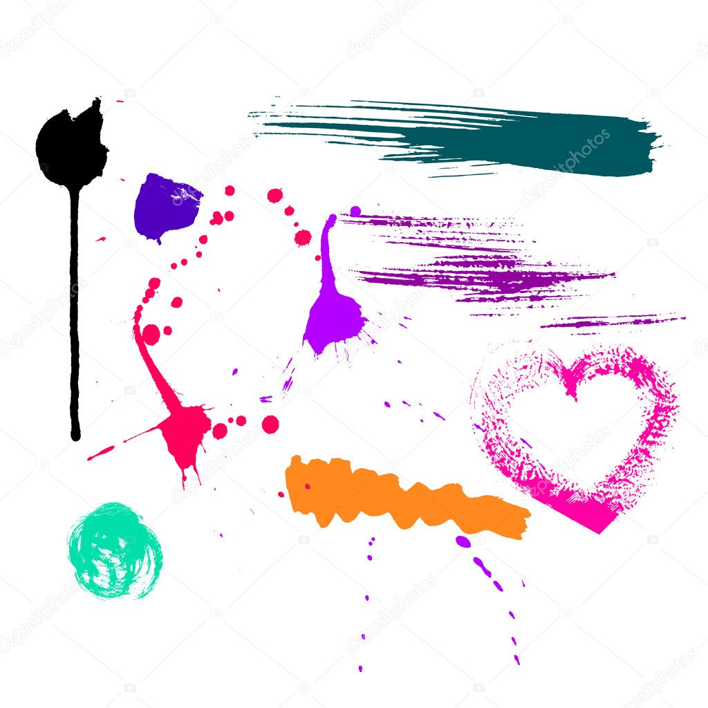 Grunge brushes   Stock Vector #2269406