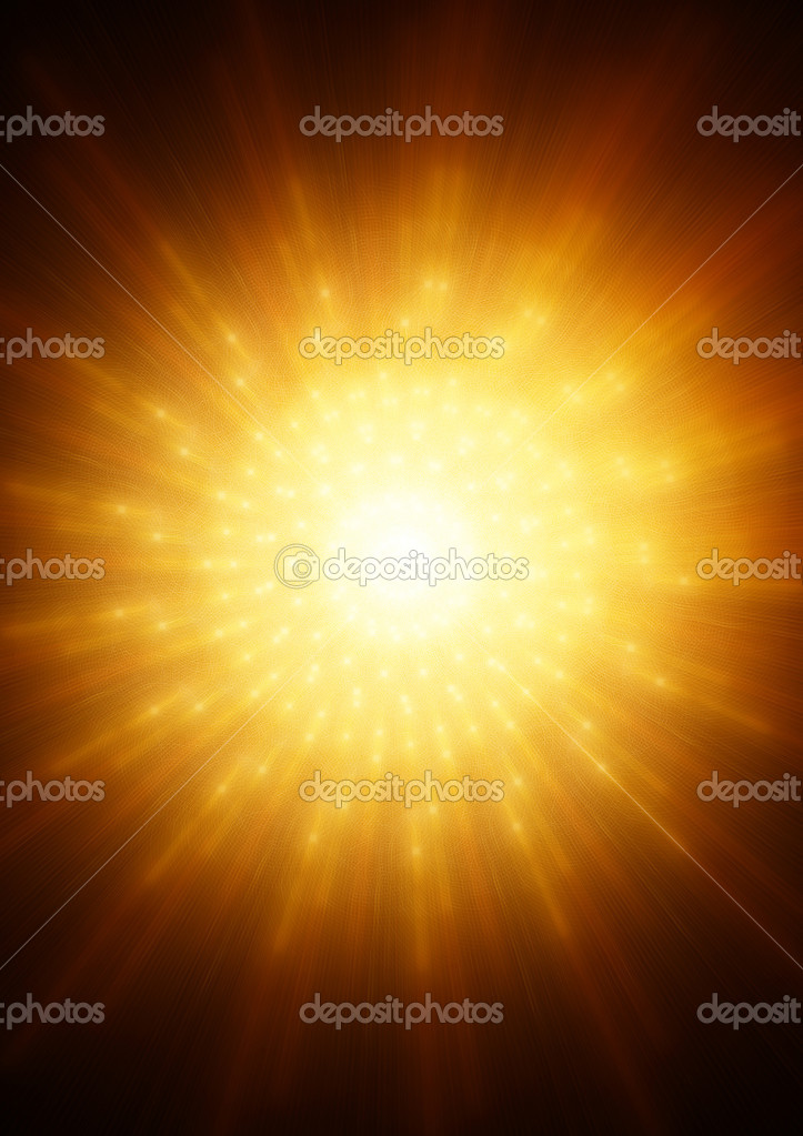 Absrtacs backgound with fire star — Stock Photo #2372495
