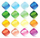 Set color icons — Stock Vector