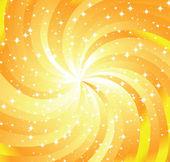 Swirl yellow background — Stock Vector
