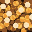 Golden bokeh. Vector - Stock Vector