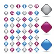 Set transport vector icons - Stock Vector