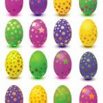 Set easter eggs — Stock Vector #2576400