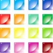 Set colorful buttons — Stock Vector #2576430