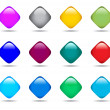 vector buttons — Stock Vector