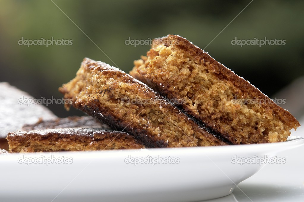Gingerbread cake — Stock Photo #2232444