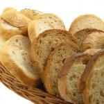 Cut bread — Stock Photo