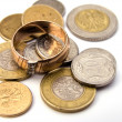 Polish coins - Stock Photo