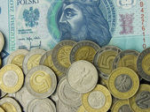 Polish Money — Stock Photo