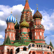 Church in moscow on a red square — Stock Photo