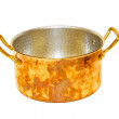 Stock Photo: Brass pot