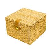 Caixa de rattan — Foto Stock