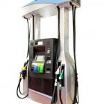 Modern gas pump — Stock Photo