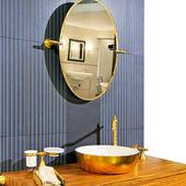 Igienico-sanitari in ottone — Foto Stock