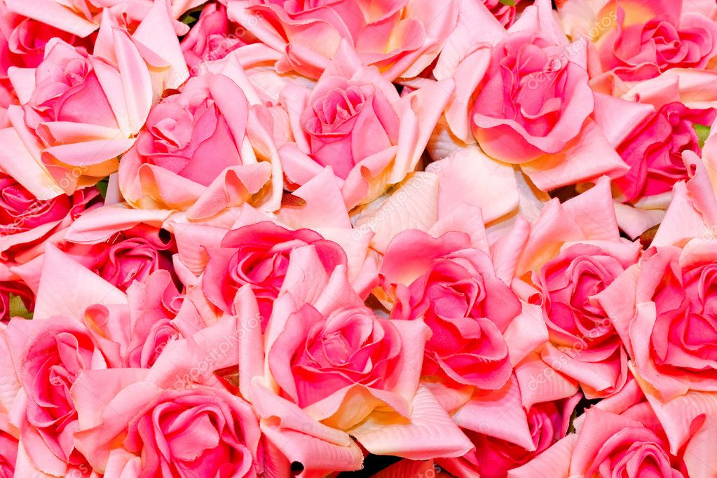 Closeup detail of a bunch of roses — Stock Photo #2080647