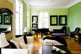 Habitación verde — Foto de Stock