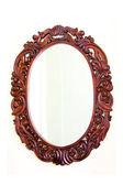 Oval mirror — Stock Photo