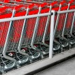 Shopping carts angle — Stock Photo #2121201