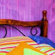 Royalty-Free Stock Photo: Colorful bedding