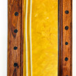 Wooden mirror — Stock Photo #2124414