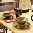 Natural dinning table — Stock Photo #2125093