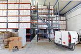 Vehicle in storage — Stock Photo