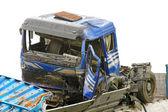 Truck crash — Stock Photo
