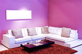 Purple room — Stock Photo